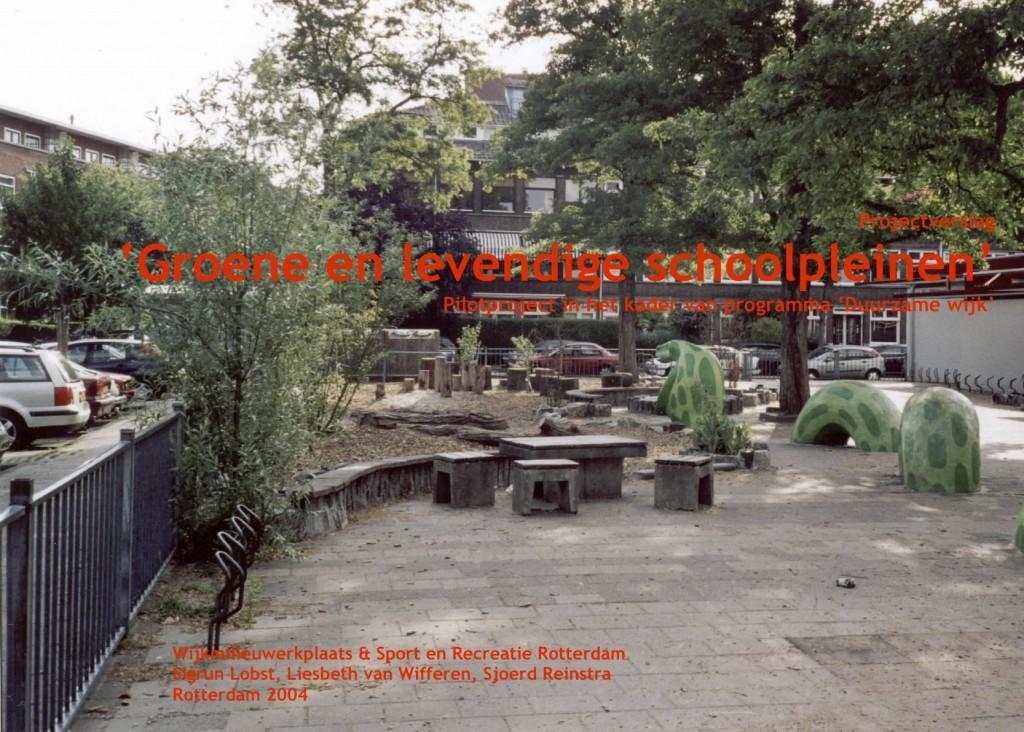 cover groene levendige schoolpleinen